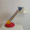 Vintage Ikea Memphis style desk lamp