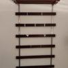 37 large rosewood coat rack